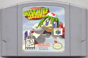 Mischief Makers (USA) Cart Scan